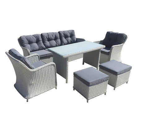 Hazard sofa set of 6