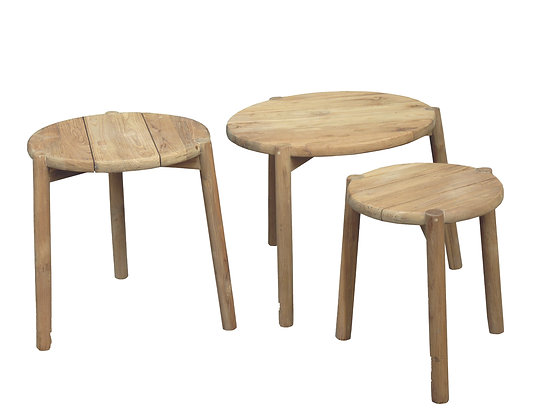 Rizza nesting table - set of 3