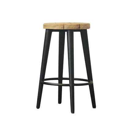 Castle industrial stool