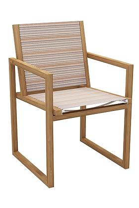 Alma Chair Stripes