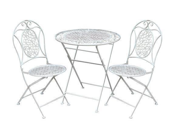 Flower bistro table set