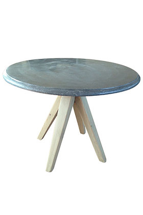 Blue stone table 000388