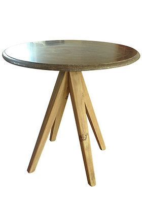 Blue stone table 000389