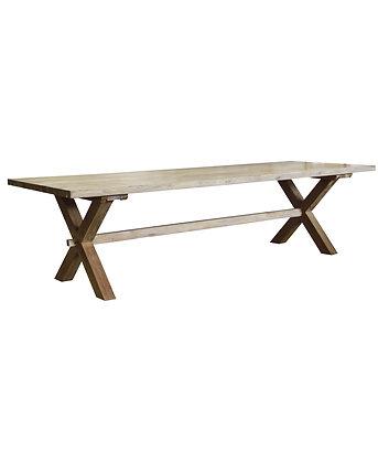 Castle table - X