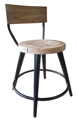 Castle dining chair with backrest