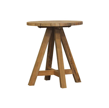 Castle round bar table
