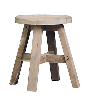 Castle rustic stool