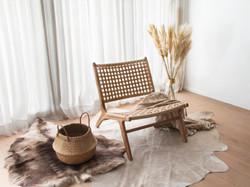 Sol Lounge met plaid en mand