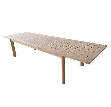 Mega extendable table
