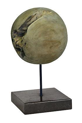 Round teak wood ball