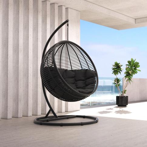 Eggo hanging chair