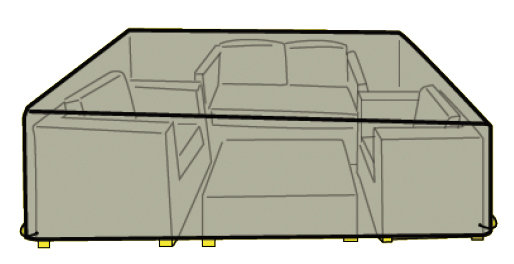 Cover for sofa set of 4