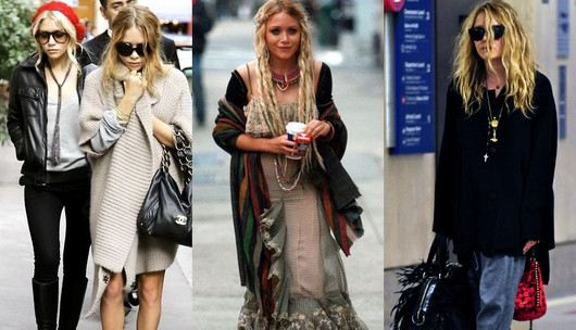 Boho Style Inspired By the Olsen Twins | Fashion