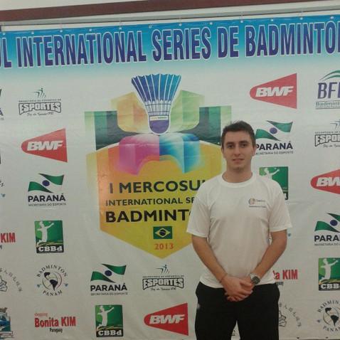 Santos Badminton Clube em 2 semi finais