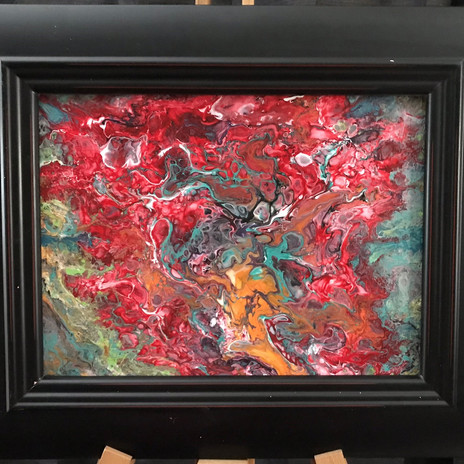 No. 1120 In the Red Planet 8x10 Canvas Board