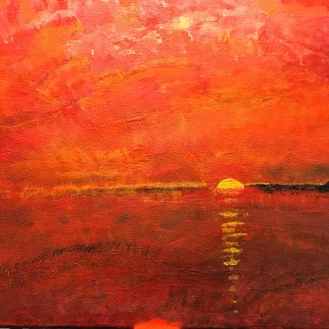 No. 1122 Summer Heat 11x14 Canvas