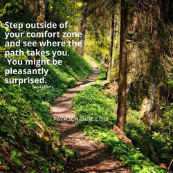 Outside your comfort zone - Path2Change.com
