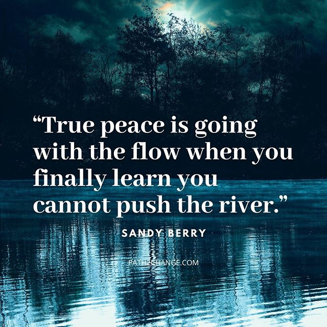 Going with the flow - Path2Change.com