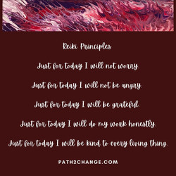 Reiki Principles - Path2Change.com