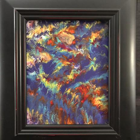 No. 1114 TyeDye Canva 8x10 Canvas