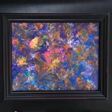 No. 1134 - Fireworks - 8x10 Acrylic on Canvas