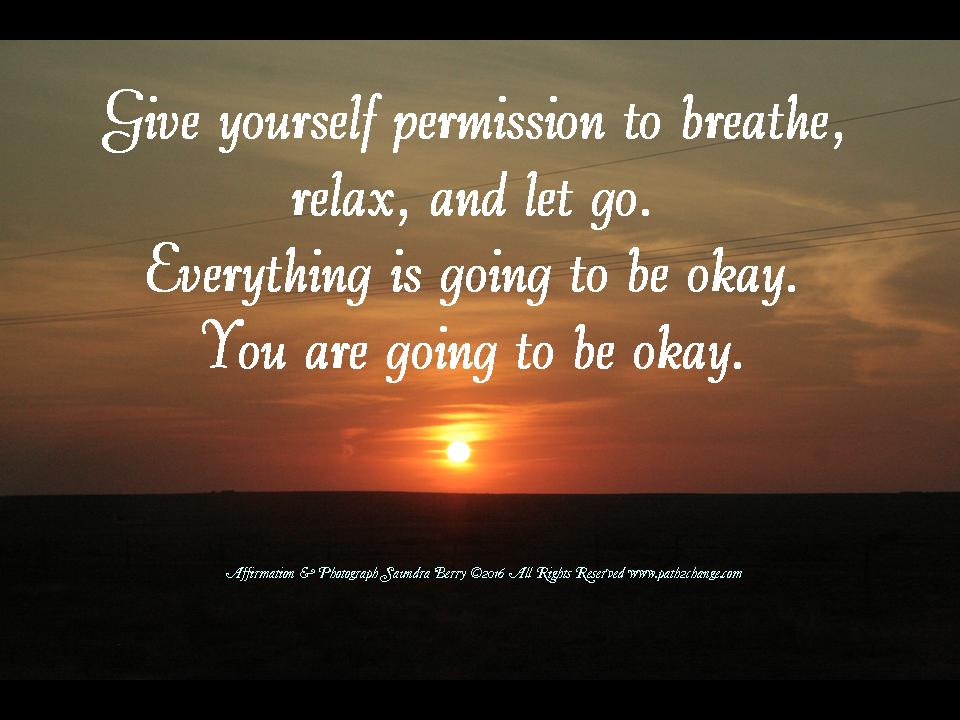 relax breathe let go Path2Change.com