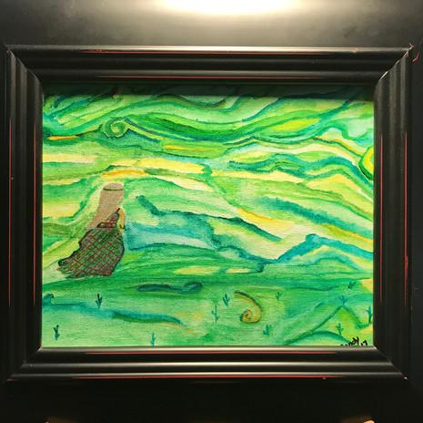 No. 1127 Spring Goddess 8x10 Canvas Board