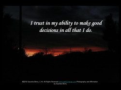 I trust in my ability SKBerry