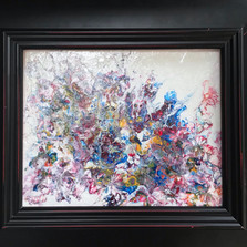 No. 1133 - Bouquet - 8x10  Acrylic on Canvas