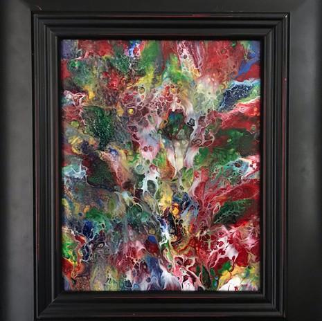 No. 1131 - Bubble Up - 8x10 Acrylic/Canvas