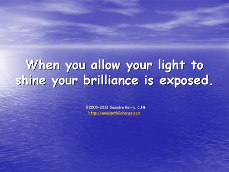 Allow Your Light To Shine!