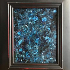 No. 1135 - Blue Night - 8x10 Acrylic on Canvas