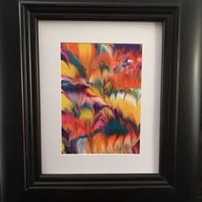 No. 1102 Liquid Feathers II 5x7 Canvas Board