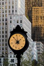 L'horloge, près de Central Park
