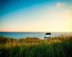 La chaise, pour observer la mer