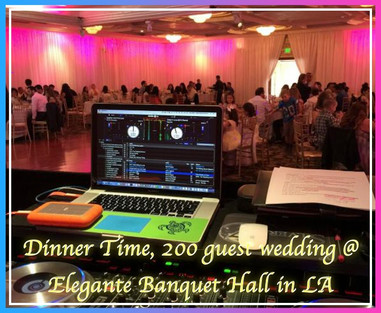 23. Dinner Time, 200 guest wedding @  El