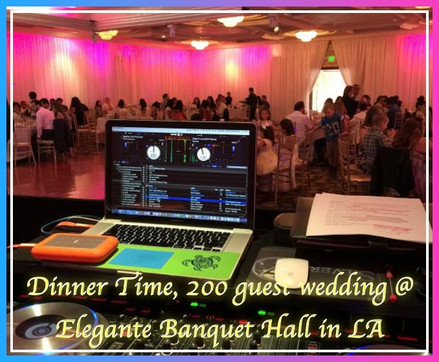 23. Dinner Time, 200 guest wedding @  El
