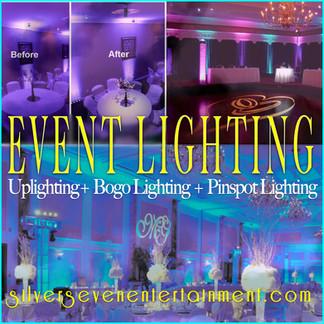 2. Event Lighting for weddings & Premier