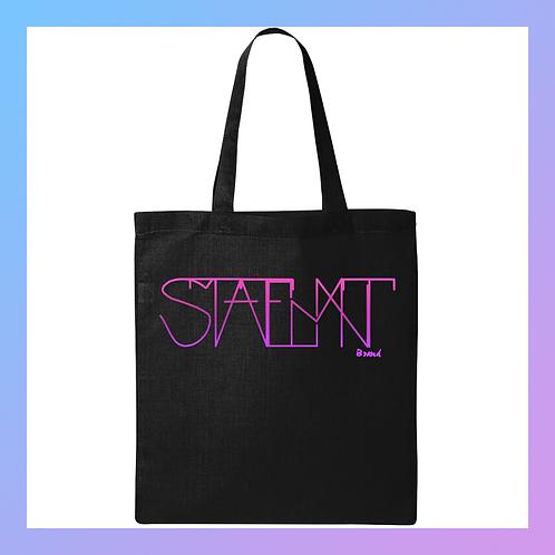 STATEMNT Brand Tote Bag (Blk)