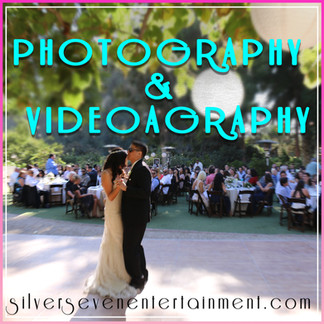 3. Photography & Videography for wedding
