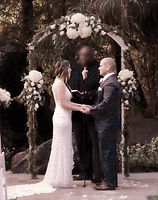 Silver Seven Entertainment & a Ceremony at the calamigos ranch in malibu