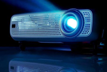 silversevenentertainment.com projector for slideshows