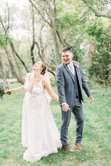 Paige and Reece Bride and Groom Portrait