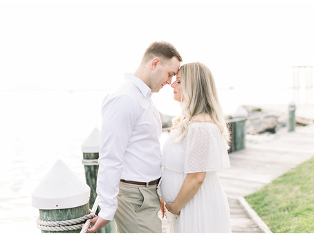 Colleen + Steve | Silver Swan Bayside Maternity Session