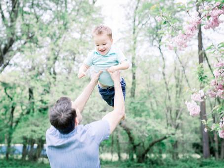 Alex & Brian | Severna Park Cherry Blossoms