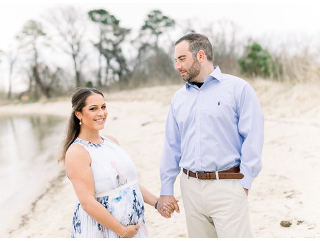 Gina + Pete | Ferry Point Park Maternity Session