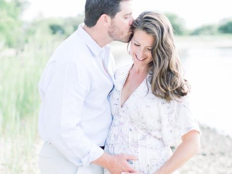 Lauren + Kyle | Kent Island Maternity