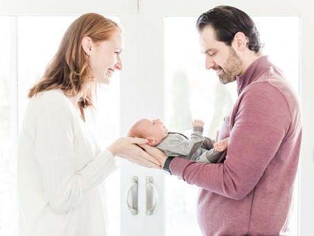 Baby Miles - Baltimore Newborn