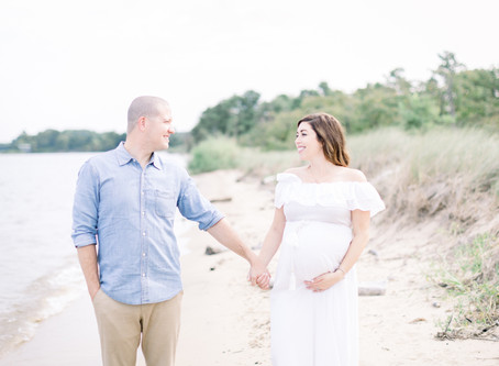 Kari  & Chris | terrapin beach maternity