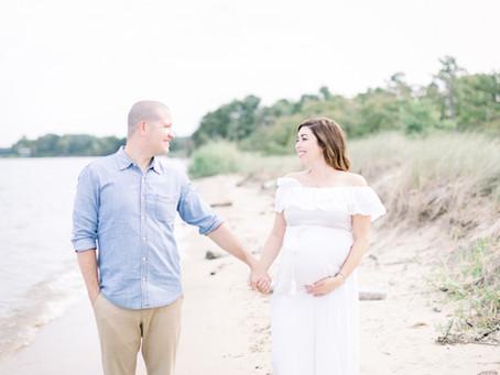 Kari  & Chris | terrapin beach maternity